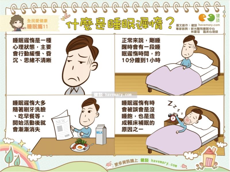 健康睡眠_什麼是睡眠遲惰?|全民愛健康 睡眠篇11 | 蕃新聞