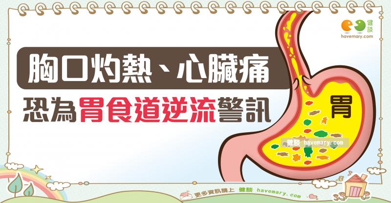 胃食道逆流,反酸水,火燒心,健康圖文,健康漫畫,漫漫健康,圖解健康,柳朋馳,柳朋馳醫師,Gastroesophageal reflux, acid reflux, heartburn,健談,健談網,havemary